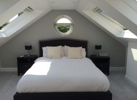 Bedroom attic grey loft conversions 19 ideas for 2019 #loftconversions