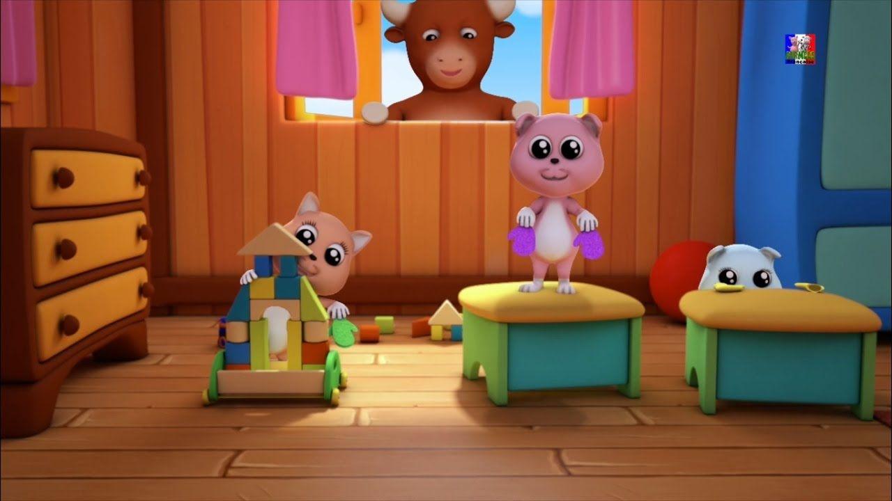 Trois petits chatons | 3d comptines pour les enfants | enfants musique |...Les trois petits chatons ont perdu leurs mitaines et sans eux, leur mère ne les laissera pas toucher la tarte délicieuse! Ils ont faim et souhaitent avoir un peu de tarte! Pourquoi ne pas vous les bébés aider les trois petits chatons à trouver leurs mitaines en chantant les Trois Petits Chatons enfants rime? #FarmeesFrancaise #threelittlekittens #enfants #comptine #éducatif #bébés #préscolaire #rimes #apprentissage
