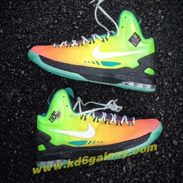 the latest 1b52f 2dee9 Nike KD V Surf Style Customs by Mache Kevin Durant shoes 2013 Buy