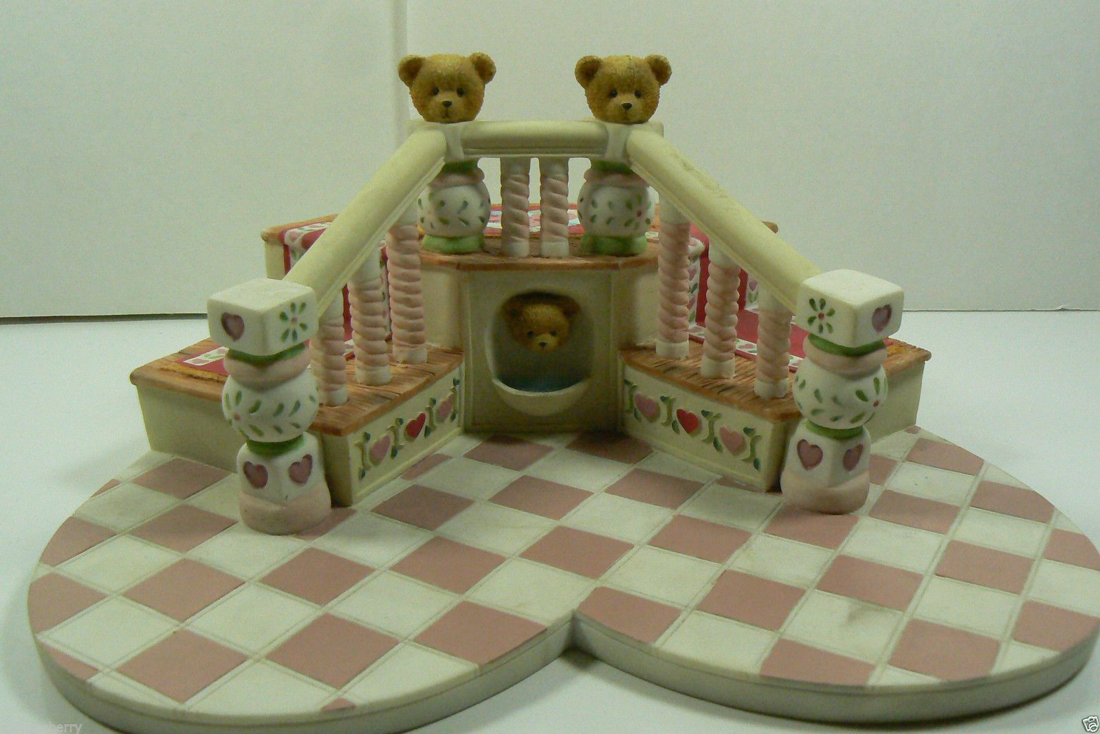Won't you be my little Teddy Bear for Valentines Day.Enesco 1995 Cherished Teddies Bears Sweetheart Ball Display Stand P Hilman | eBay Gifts