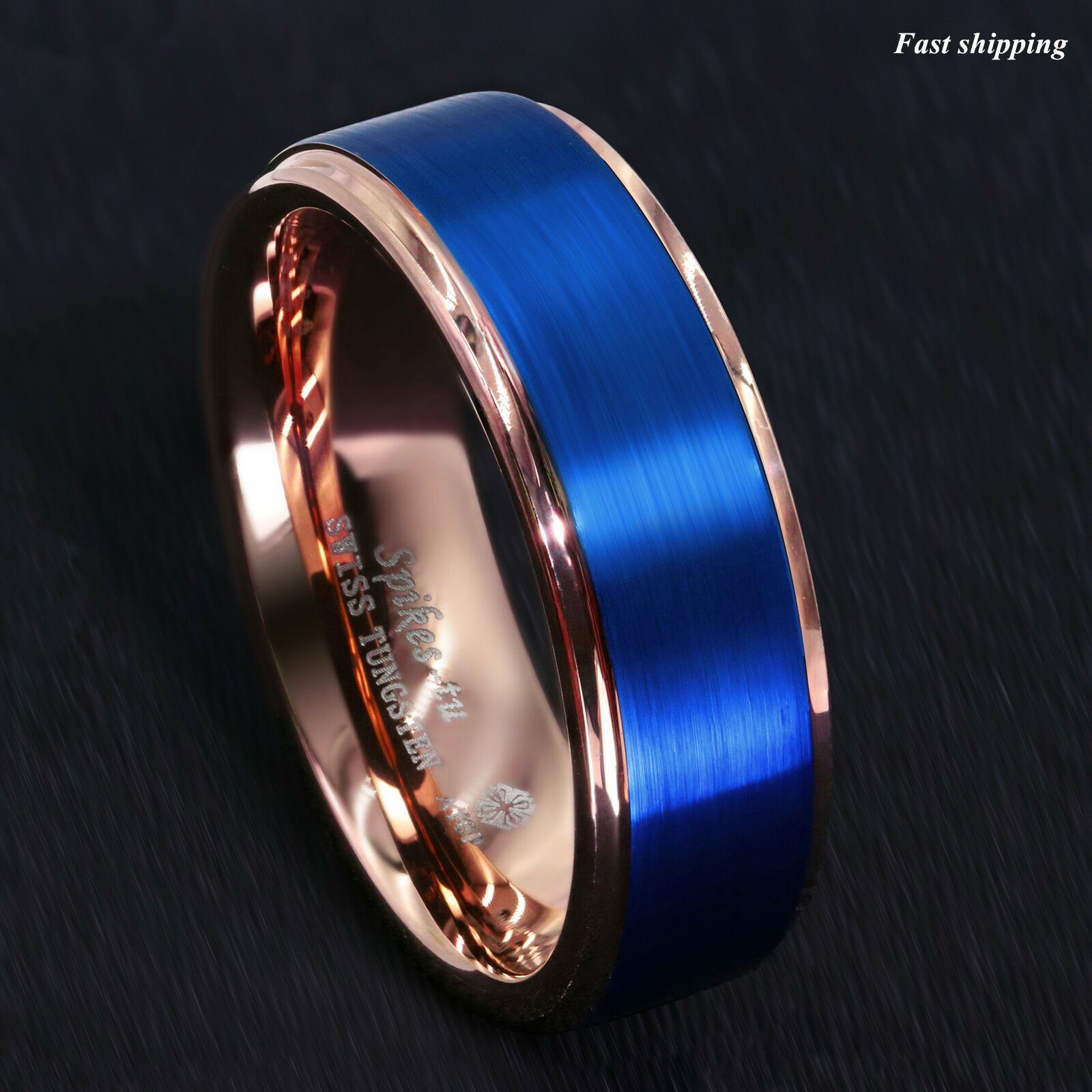 Blue Ring Archives in 2020 Blue tungsten wedding bands