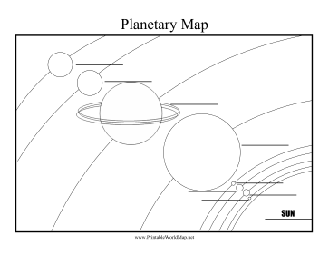 Teachers can use this printable solar system map to teach students teachers can use this printable solar system map to teach students the name of the planets ccuart