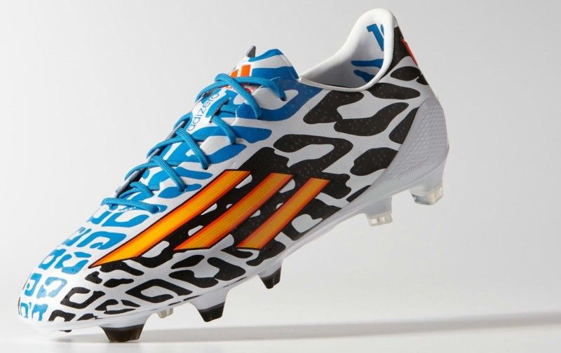 outlet store e065f 876a1 Lionel Messis new World Cup Edition Shoes