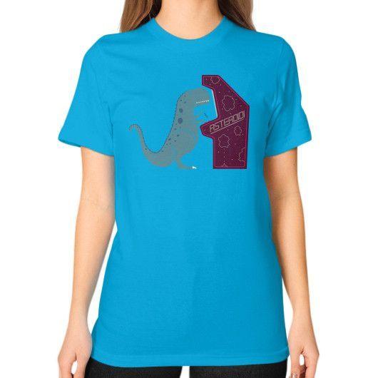 Irony Unisex T-Shirt (on woman)