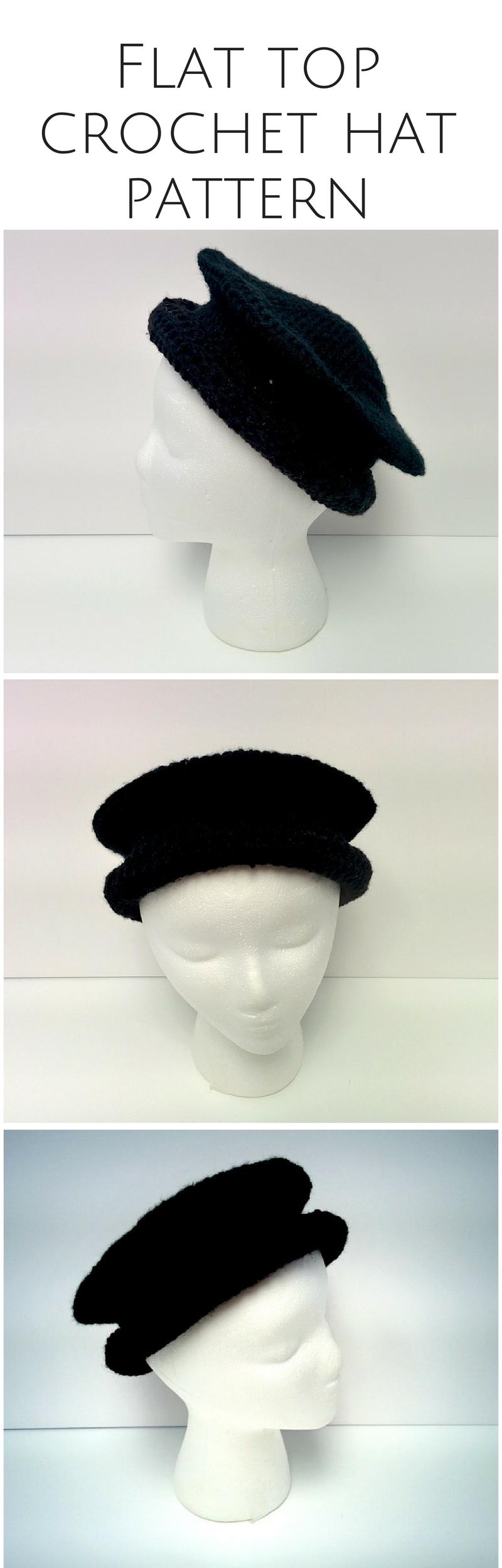 CROCHET PATTERN: Crochet Beret Hat   handmade, crochet hat pattern ...