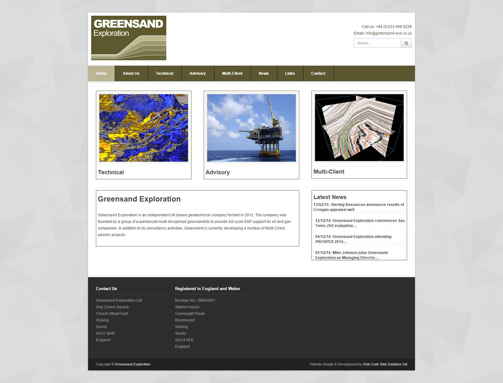 Greensand Exploration Ltd