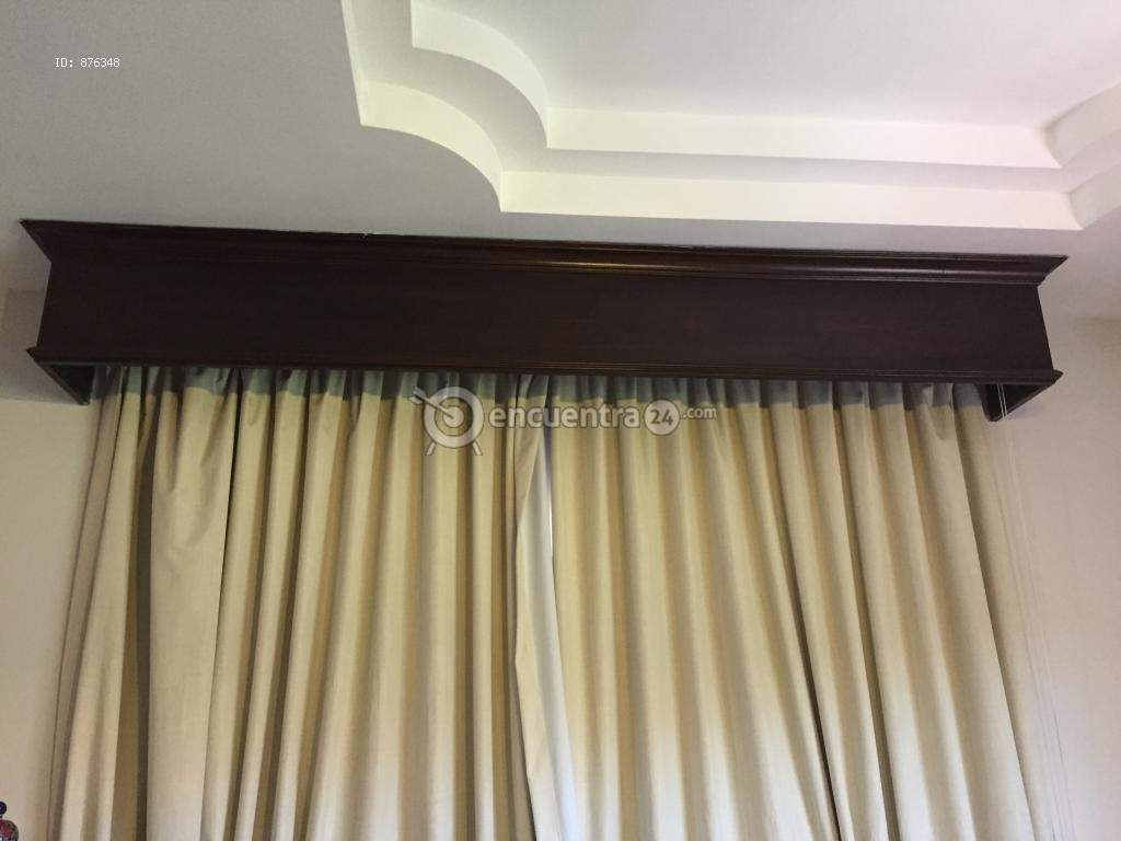 Vendo cenefas de madera para ventanas grandes v a - Para colgar cortinas ...