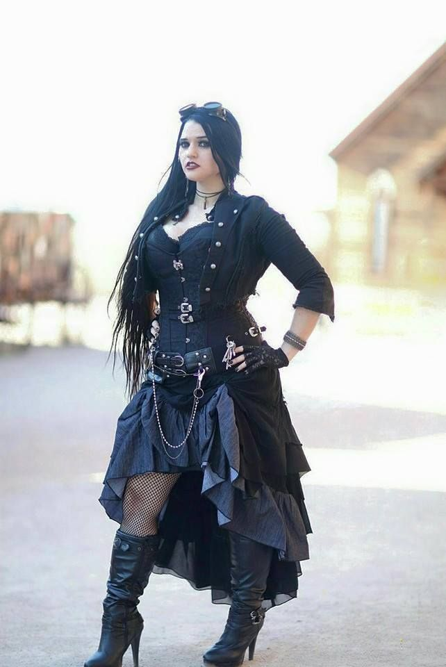 ElfyAubrie Steampunk Cosplay Photo by Grant Brummett - WorldCosplay www.facebook.com/elfyaubrie #steampunk #cosplay