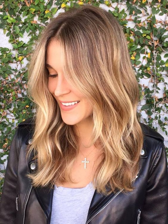 Mid Length Hairstyles Golden Brown Hair Color Ideas For Medium Length Hairstyles 2017