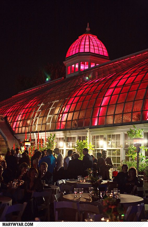 Columbus Wedding at Franklin Park Conservatory by Mary