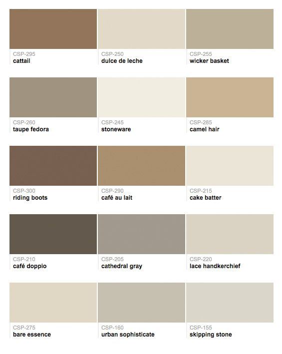 Paints From Hirshfield S Benjamin Moore Color Stories House Palettes Tuscan Design Colors