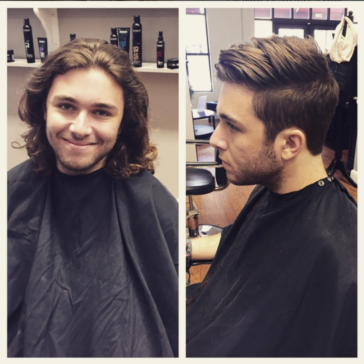 Before And After Men S Haircut By Gabby N At Avante On Main Street