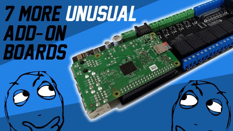 7 More Unusual Raspberry Pi Add-on Boards   Personal