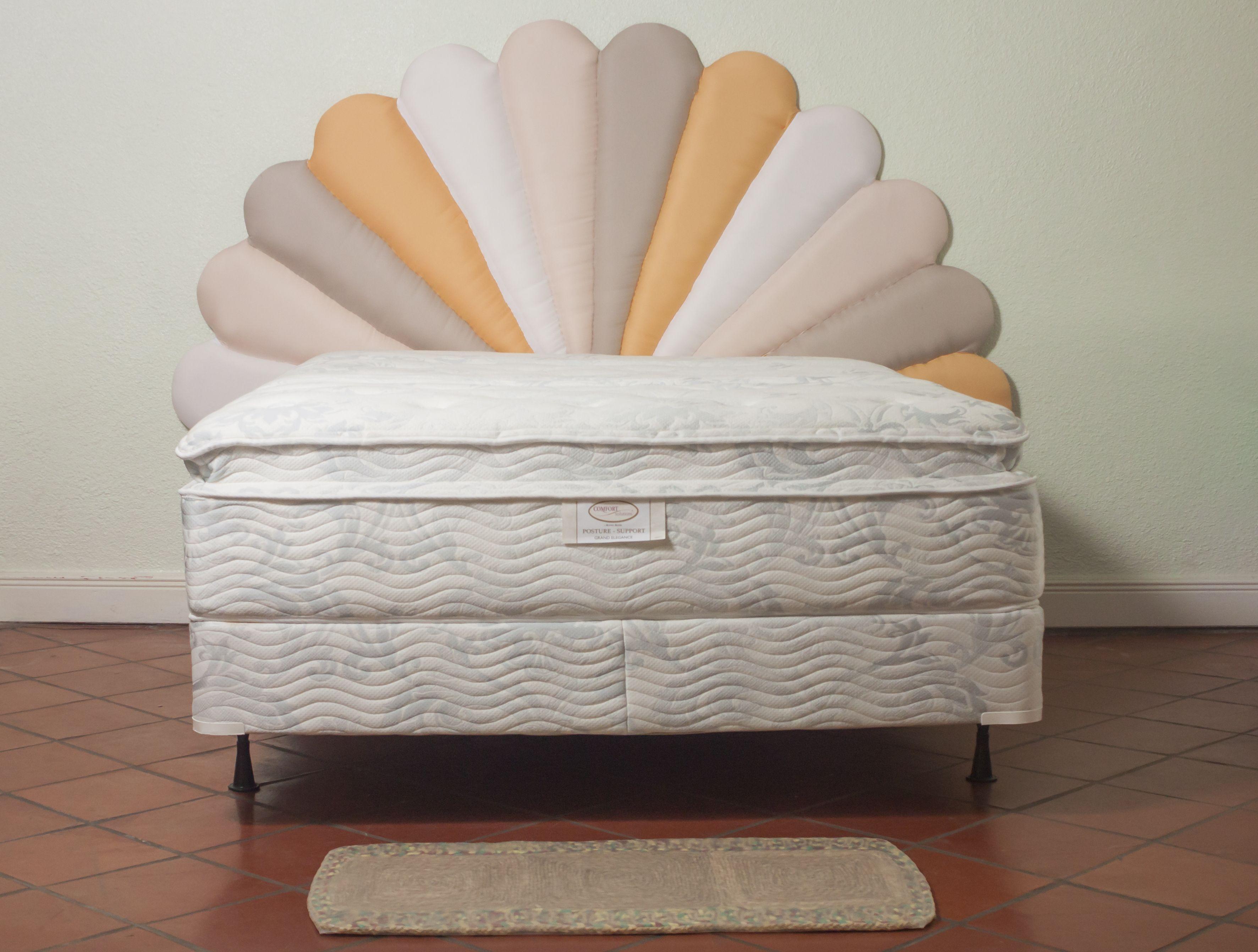 Bath Towel Pillow top mattress, Memory foam mattress