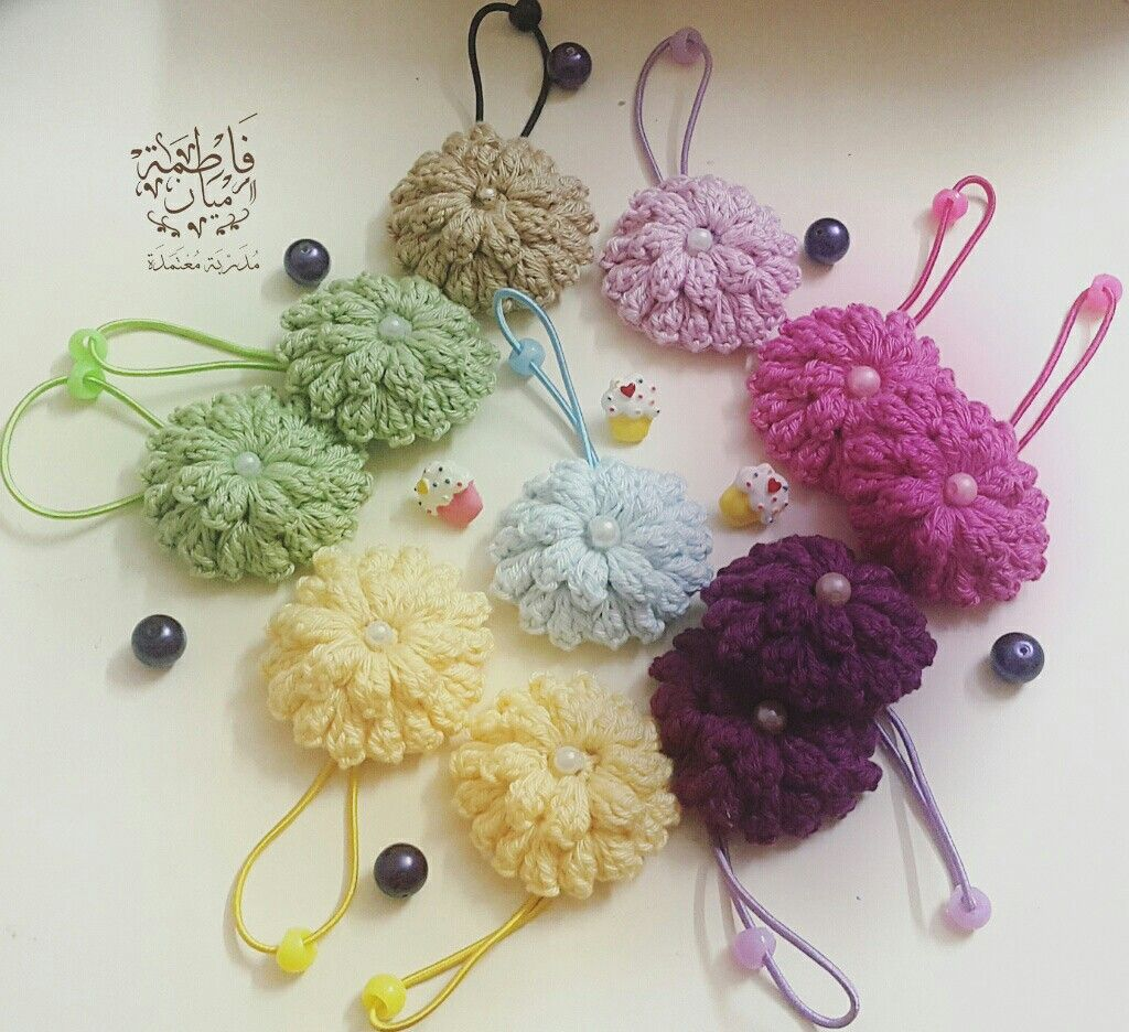ربطات شعر كروشية Crochet Crochet Necklace Projects To Try