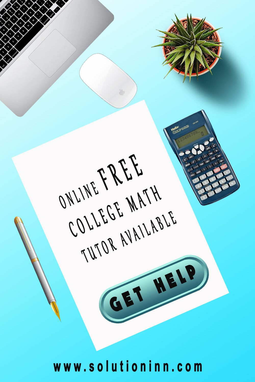 Math tutor homework help online
