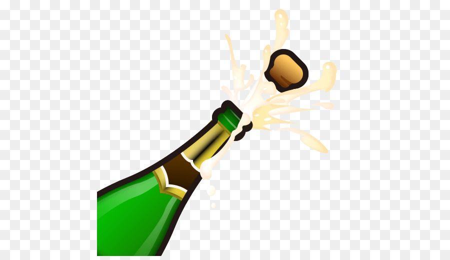 Emoji Champagne Sparkling Wine Bottle Champagne Bottle Champagne Bottle Sparkling Wine Wine Bottle