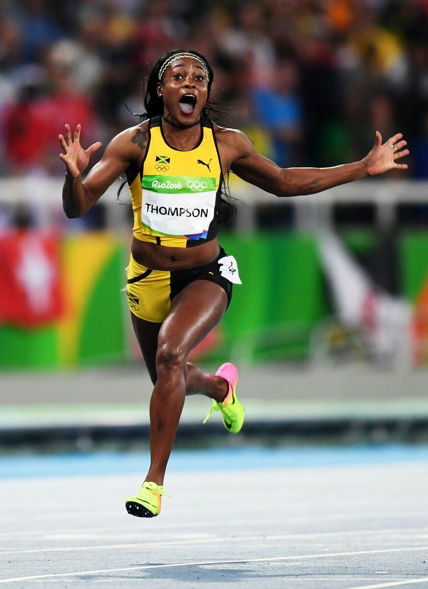 TRAVEL REFERENCES: Elaine Thompson of Jamaica wins Olympic gold in Women's  100 m dash at
