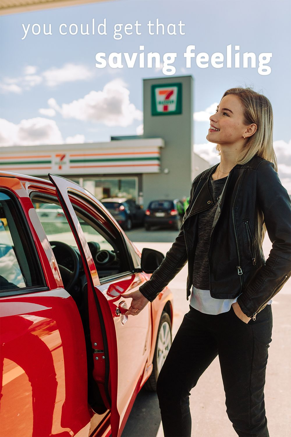 Download the 7Eleven Fuel App TODAY and you could save