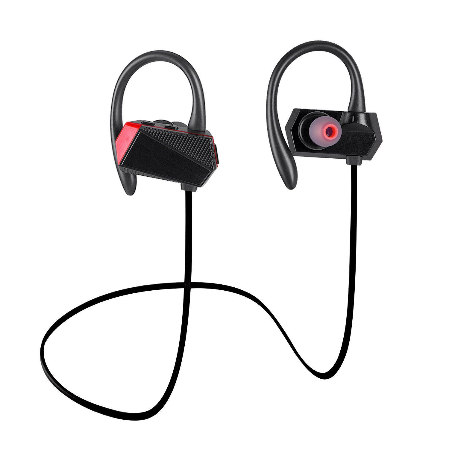 Wireless Earbuds Apply Bluetooth Headset Active Noise Canceling Headset  IPX4 Sweatproof Earphones with Mic for Running cd850f0e5662b