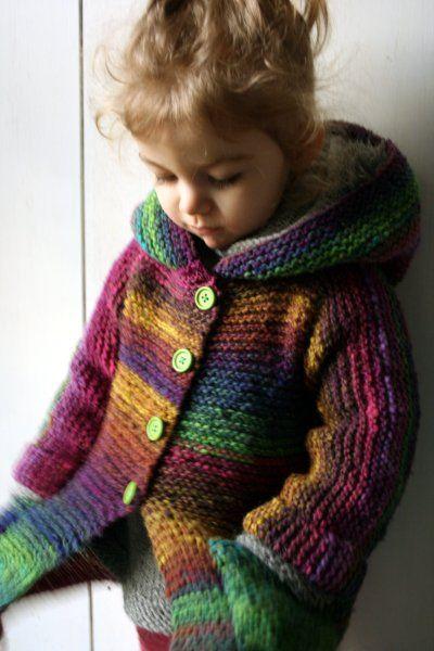 Little Niji... (Tuto inside!) | Tricot | Pinterest | Tejido, Telar y ...