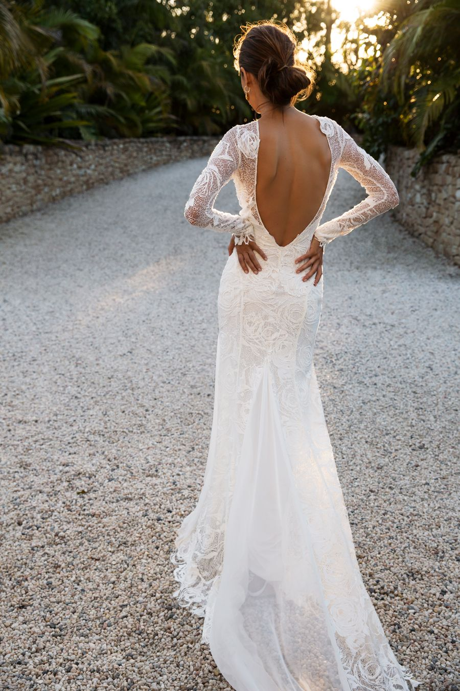 2019 year for women- Wedding Lace dress pinterest pictures