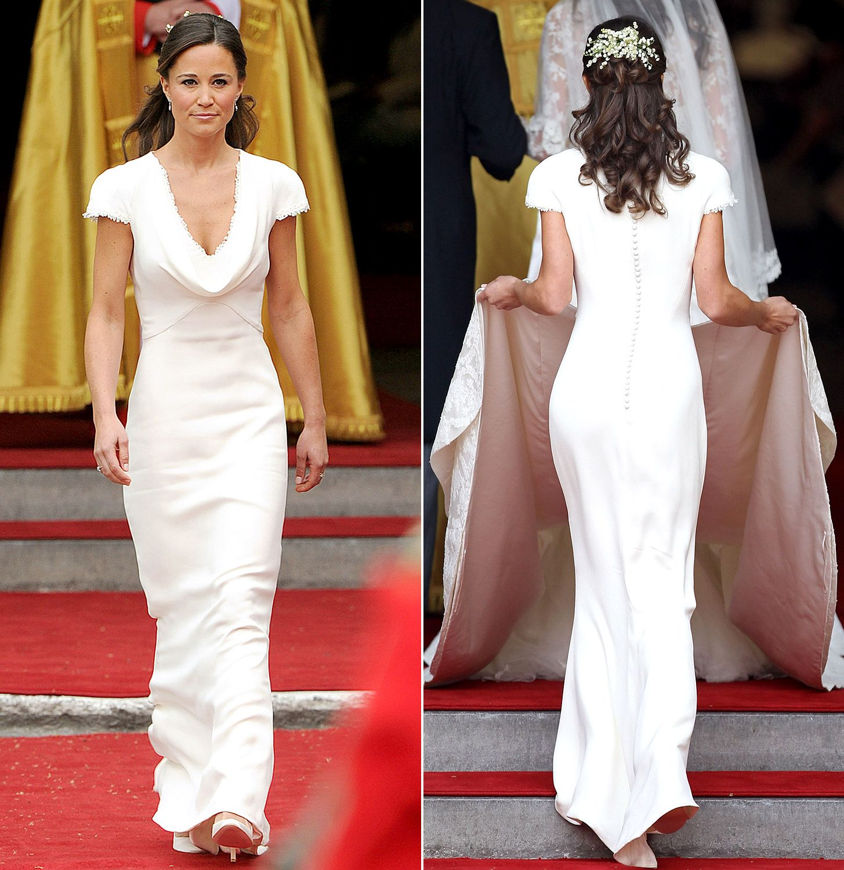 #PippaMiddelton | Kate wedding dress, Pippa middleton bridesmaid dress