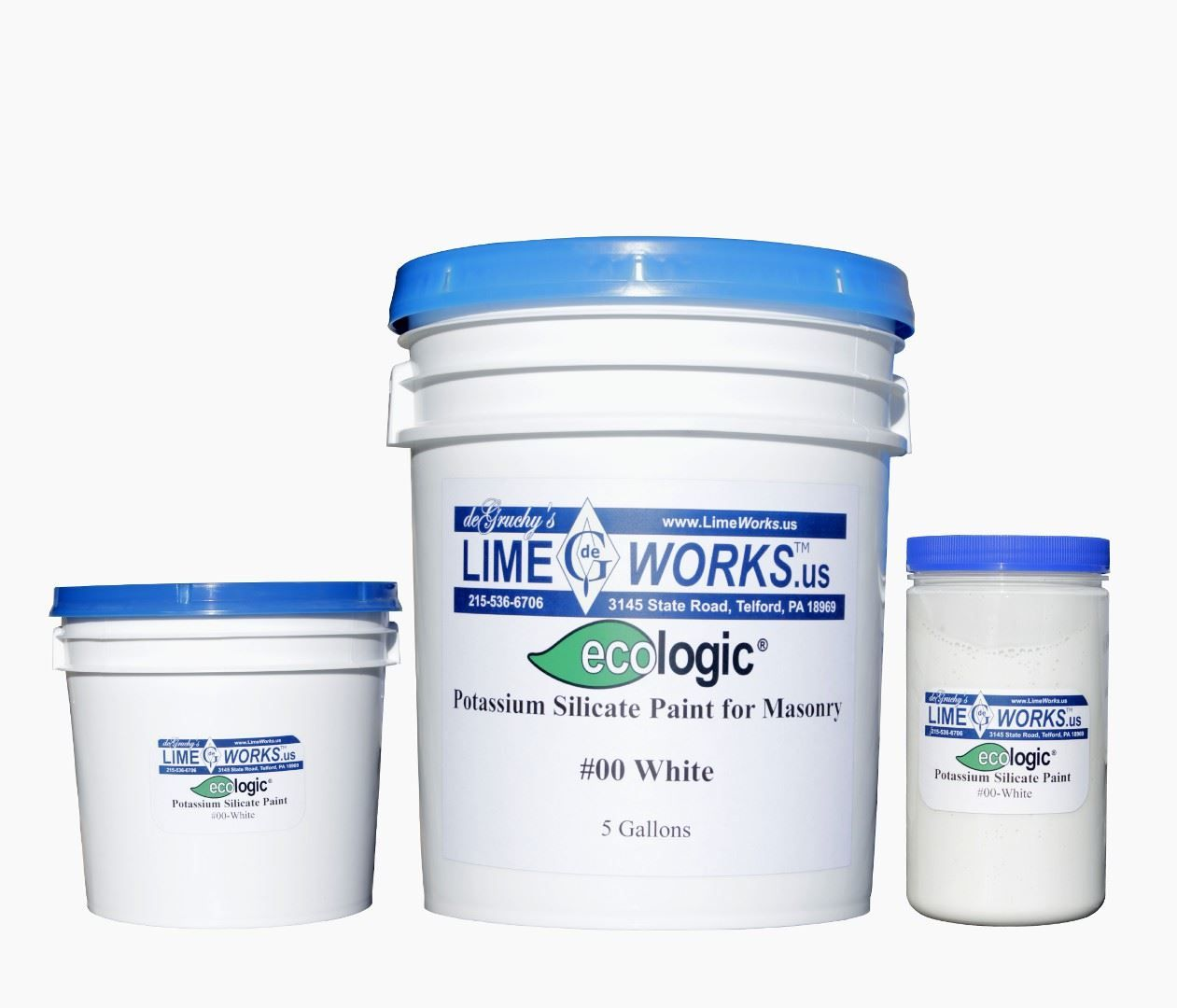 Ecologic™ Potassium Silicate Paint in 2019 | 1621 Myler | Masonry