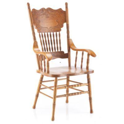 Strange Nostalgia Ii Press Back Style Arm Chair Sears Sears Ibusinesslaw Wood Chair Design Ideas Ibusinesslaworg