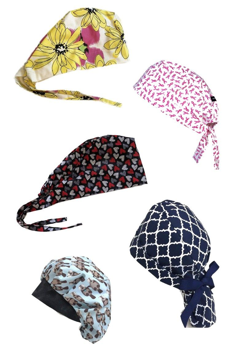 Best Scrub Cap Patterns to DIY for health care workers