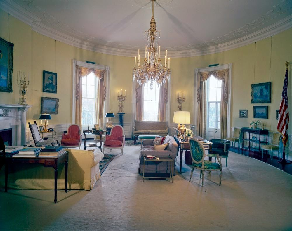 View Of The Yellow Oval Room White House Washington D C House Rooms House White Rooms