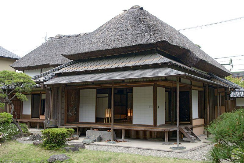 Old toshima house in yanagawa fukuoka prefecture for Classic japanese house