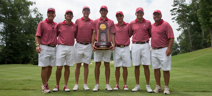 Congratulations to the University of Alabama men's golf ...