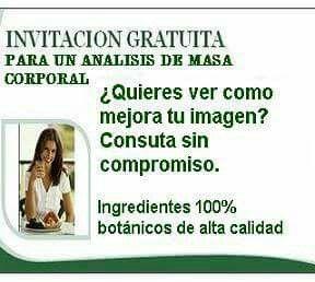 Invitación Análisis Corporal Herbalife Nutricional Y