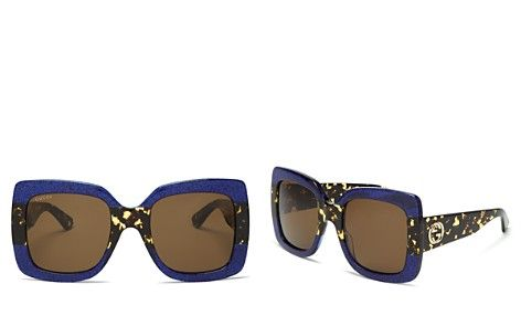 9b5286305b34 Gucci Oversized Square Sunglasses