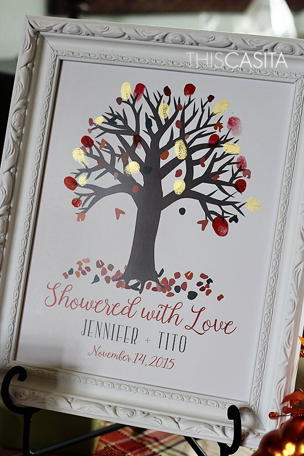 THIS CASITA: Fall In Love Themed Bridal Shower | Fall ...