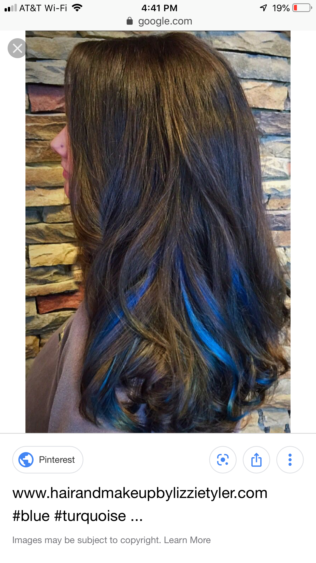 Pin By Suzy Arroyo On Just Frizzinesss Blue Hair Highlights Hair Color Streaks Blue Hair Streaks