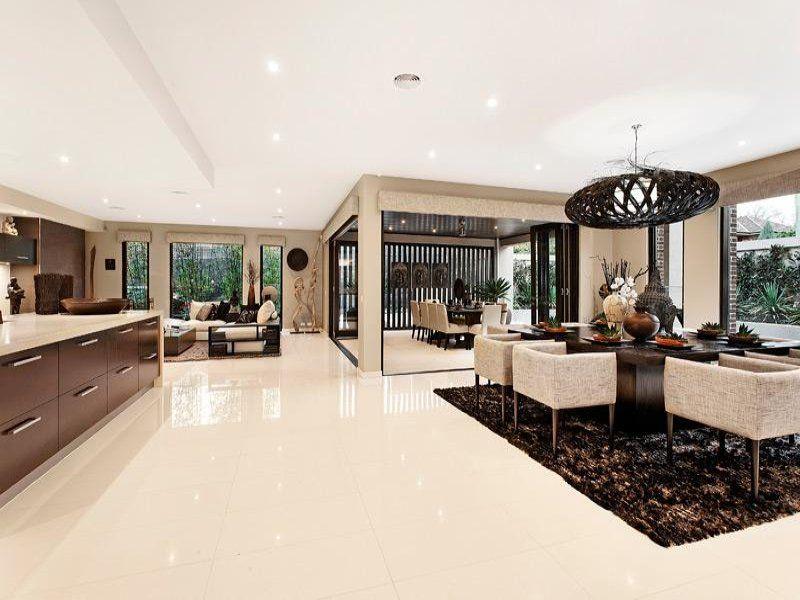 Beautiful Living Room Ideas & Photo Gallery | Open plan, Bi fold ...