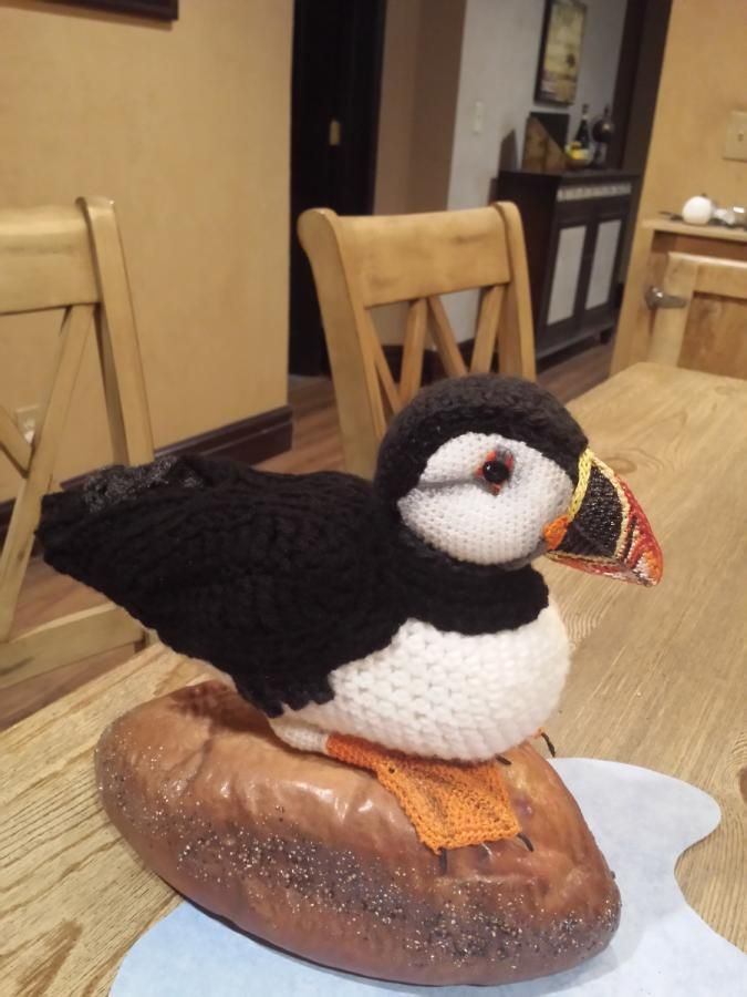 I designed this puffin from CharleeAnn's suggestion for a unique ...