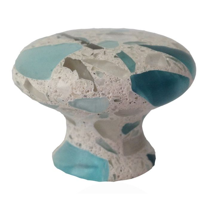 Features:  -Make all your home cabinetry pop with these stylish pulls and knobs from Pierre Habitat.  -Made with recycled glass that is totally green and sustainable.  -Knobs and pulls not only look g