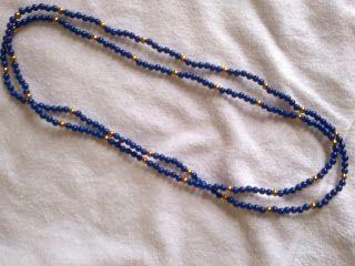Rosângela Vig Artesanato e decoração: colar turquesa de duas voltas, sem fecho, 70 cm, 3...