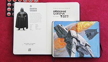 2014/2015 18 months STAR WARS Weekly Notebook Planner - Moleskine ® --> must have this one!!