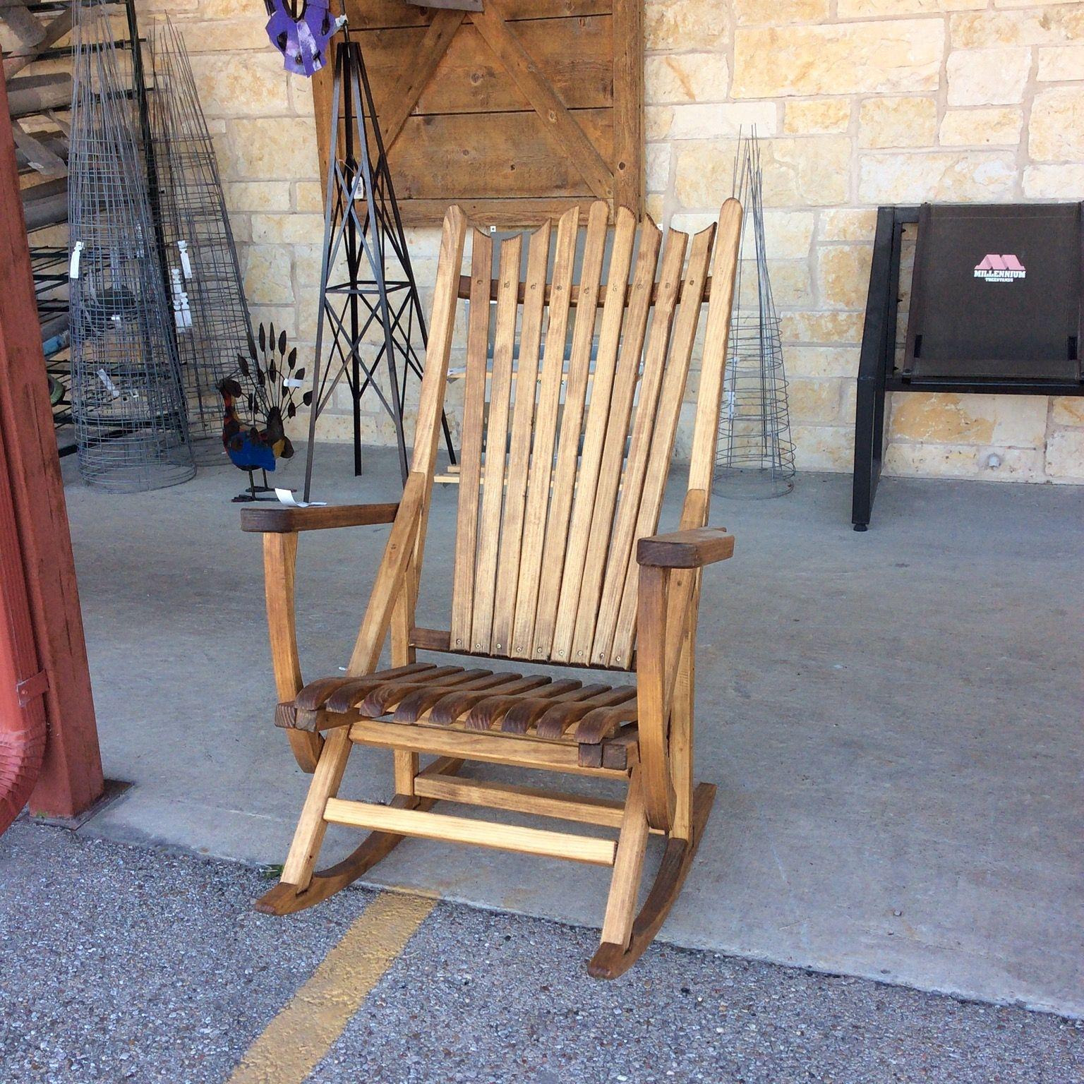 Plum Creek Rocker As Seen On Hgtv S Fixer Upper Mcgregor General Store Clearance Patio Furniture Porch Rocker Rocking Chair Porch