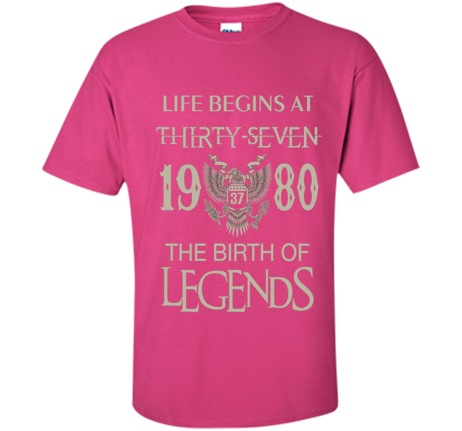 Life begins at Thirty-seven - 1980 - the birth of legends