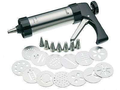 Kitchen Craft Mcicingpro Mc Biscuit Icing Set Nozzle