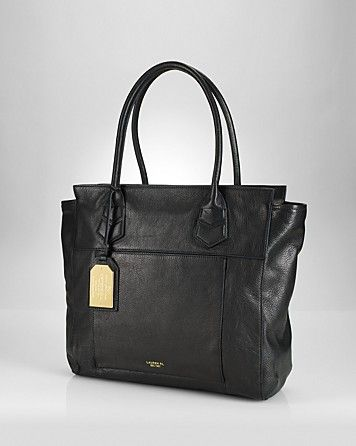 Lauren Ralph Lauren Tote - Larson North South - All Handbags - Handbags - Handbags - Bloomingdale's