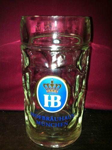 $5.99 ! Hofbrauhaus Munich German Beer Mug Hofbräuhaus München 1 Liter Dimple Mug   eBay