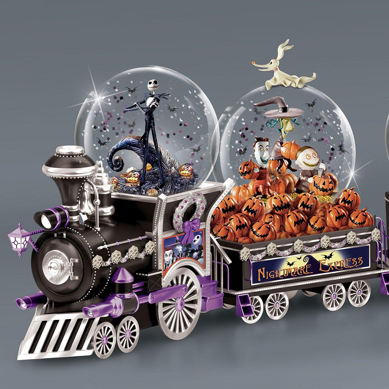 The Nightmare Before Christmas Musical Glitter Globe Train Nightmare Before Christmas Snowglobe Nightmare Before Christmas Gifts Nightmare Before Christmas Musical
