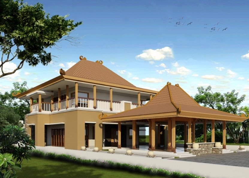 50 Model Rumah Joglo Minimalis Modern Terbaru 2018 Model Desain Rumah Minimalis Desain Rumah Rumah Home Fashion