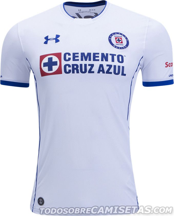 7fcafe6ad6d Camisetas Under Armour de Cruz Azul 2017-18